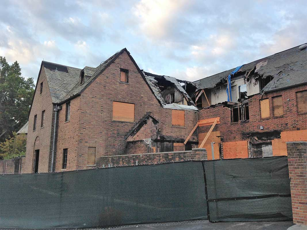 Ardsley Country Club devastated by fire